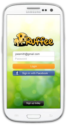 Ruffee on Android phones